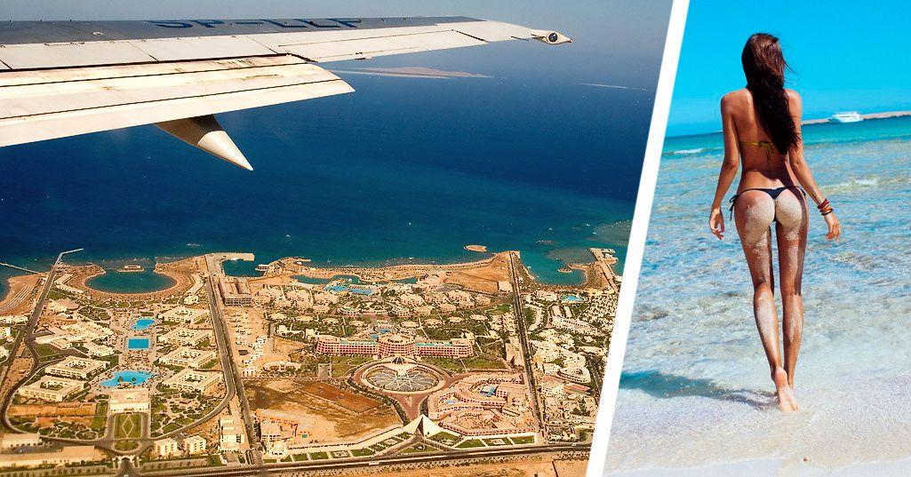 ϟ Добраться до Хургады стало проще: на курорты Египта возобновились рейсы ещё одной авиакомпании