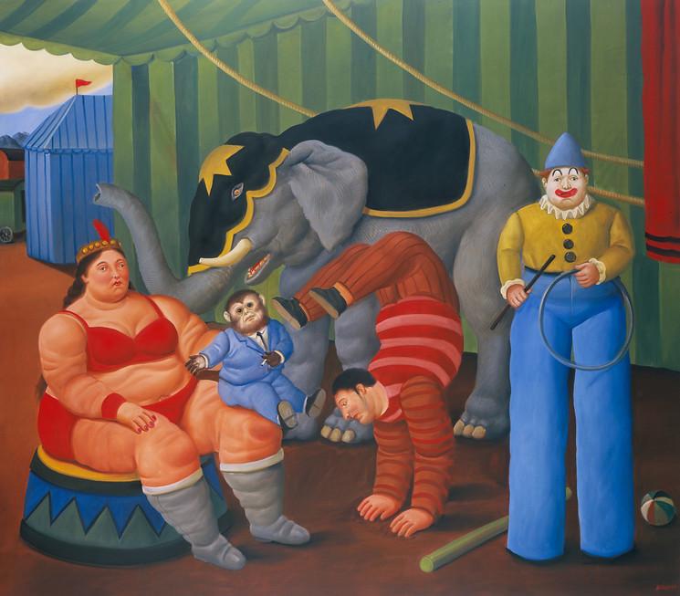 Крупнейшая выставка Фернандо Ботеро готовится к открытию в Мадриде