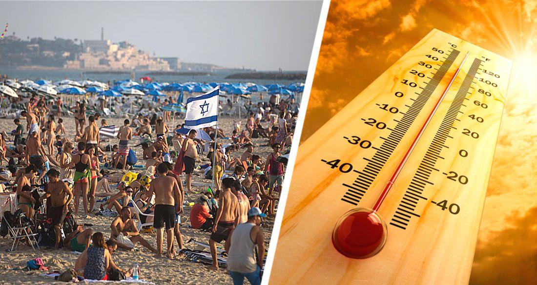Израиль погрузился в пекло: +49°C, за 140 лет жарче не было