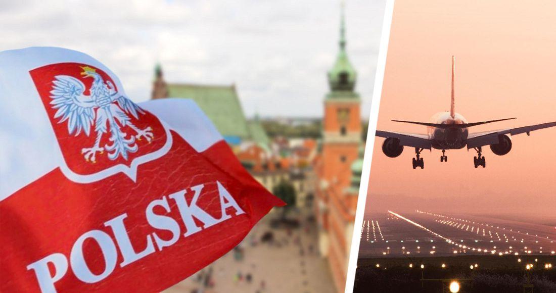 Польша сделала шаг к открытию авиасообщения с Россией