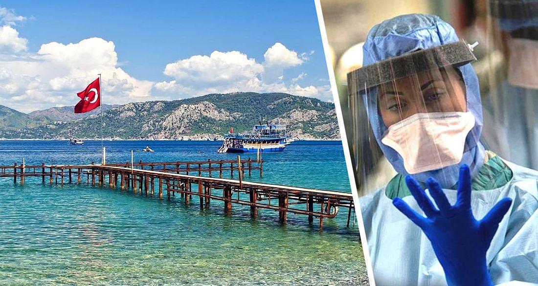 В Анталье проверили 65'000 иностранных туристов на коронавирус: в 12 отелях работают лаборатории