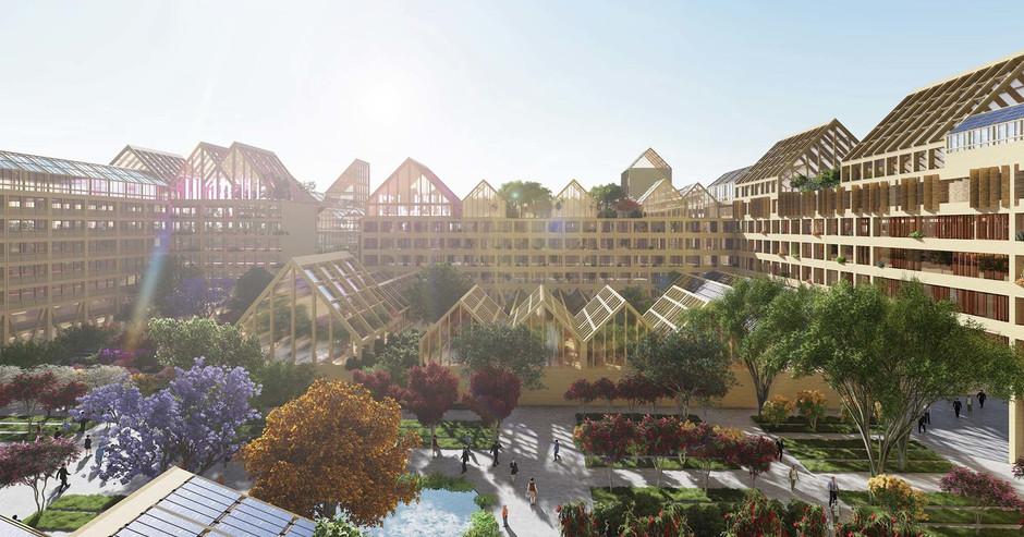 Испанский архитектор создал проект экологичного города для эпохи пост-COVID