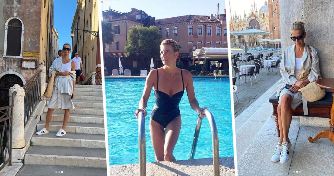 Юлия Высоцкая продемонстрировала свою поездку в Венецию в закрытой для обычных российских туристов Италии