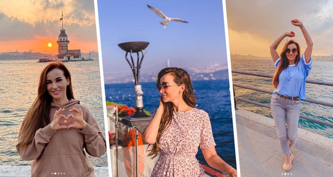 Анфиса Чехова опубликовала фото своего отдыха в Турции