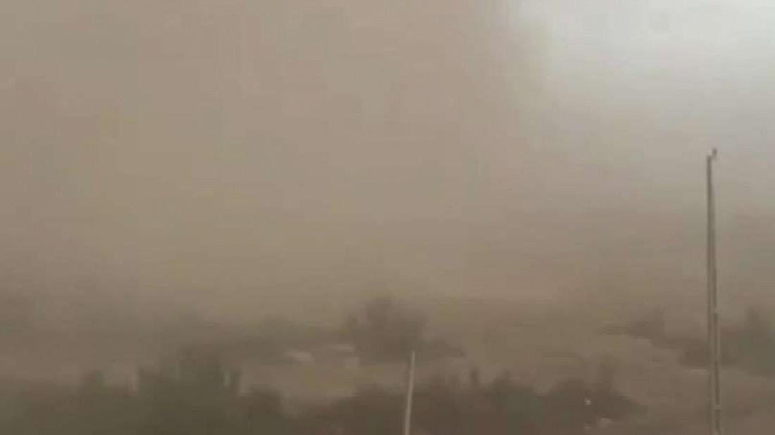 Анталию накрыла песчаная буря из Африки. Видео