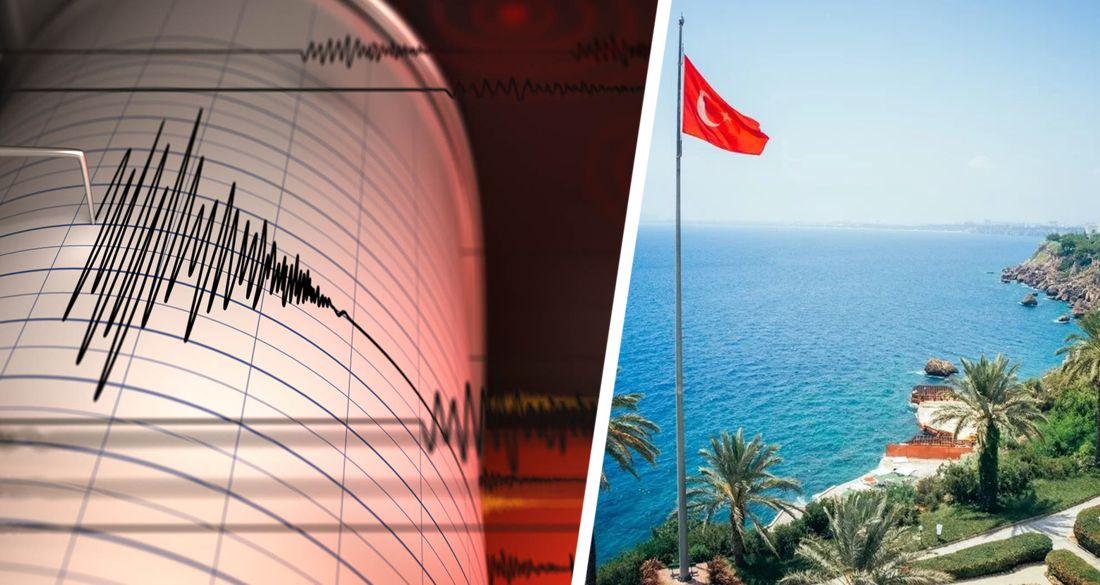 В Анталии произошло землетрясение, напугавшее туристов в отелях