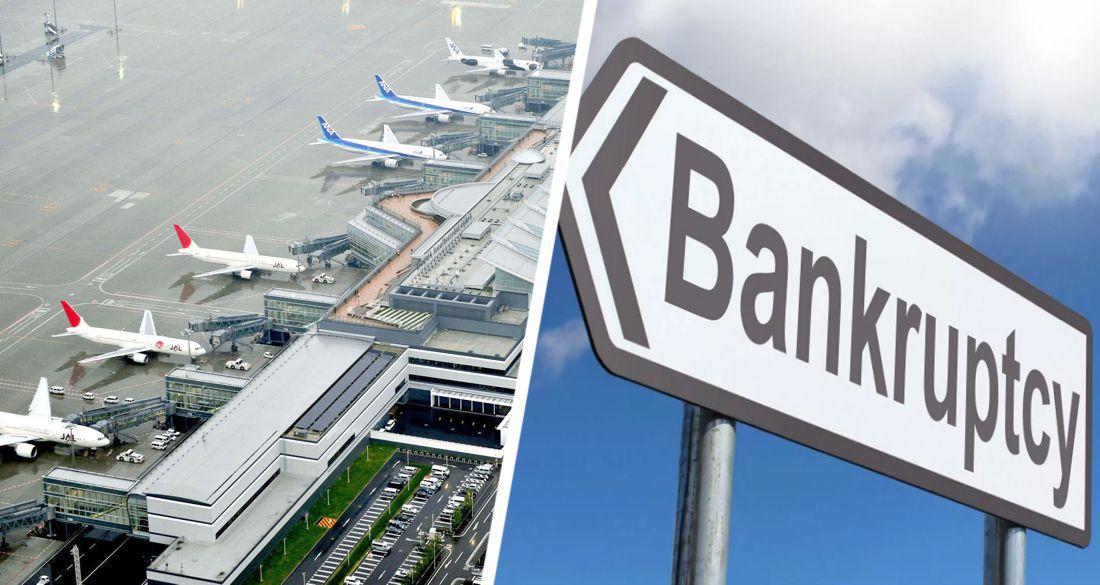 Начинается массовое банкротство аэропортов