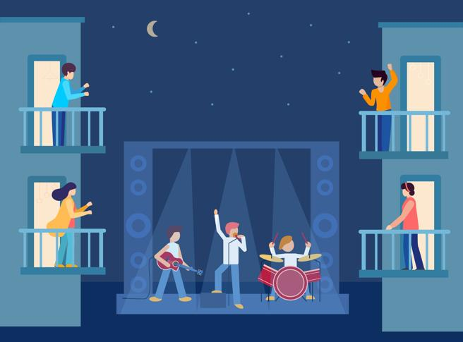 Balcón' Rock: концерты в отелях побережья Коста-дель-Соль, которыми можно наслаждаться, не выходя из номера