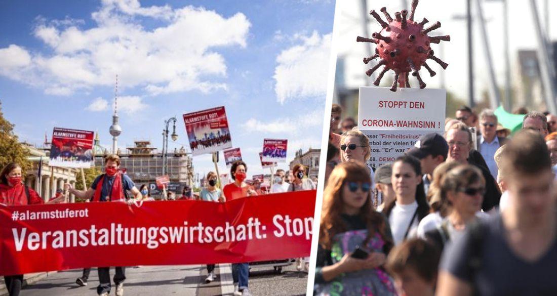 Турфирмы выходят на уличный протест: в Германии пройдет крупнейший митинг против коронавирусных ограничений