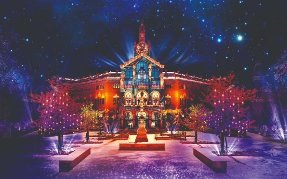 В Барселоне начинают подготовку грандиозного шоу и световых инсталляций для Рождества