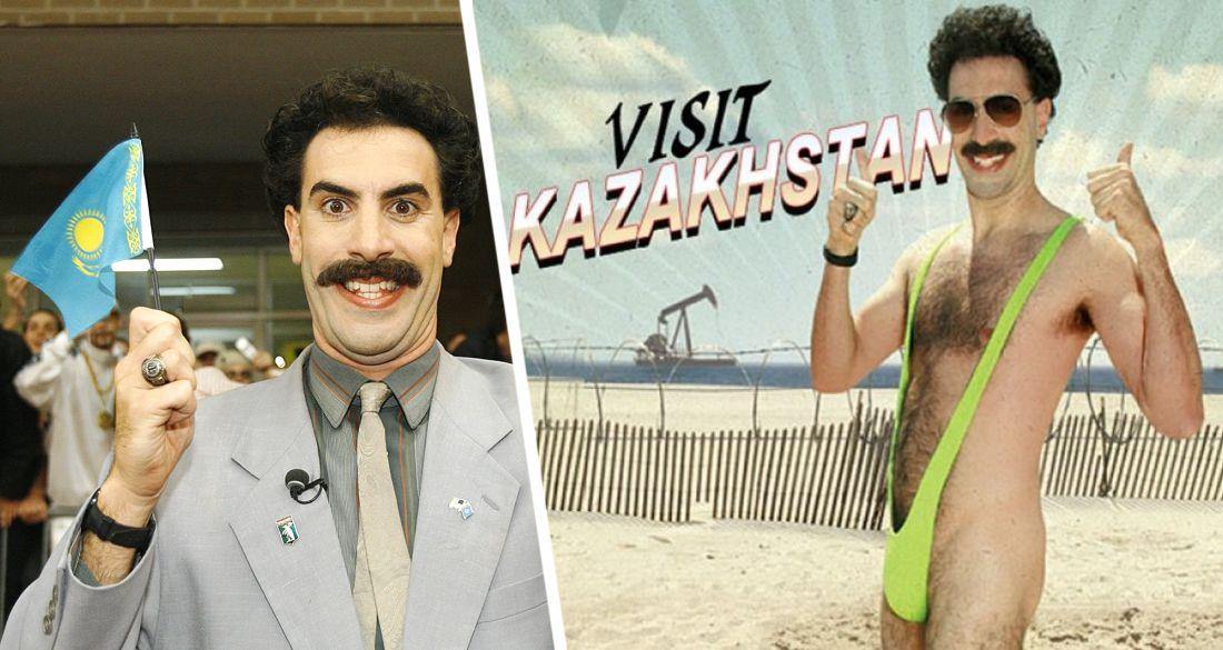 Борат начал продвигать туризм Казахстана