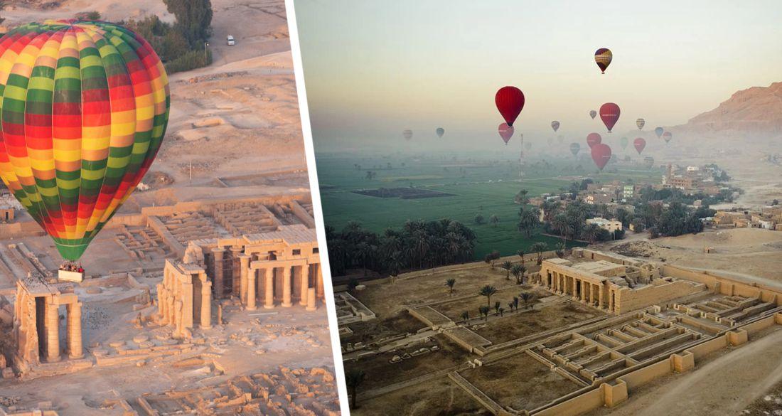 Египет: в Луксоре для туристов возобновляются полеты на воздушных шарах после 7-месячного перерыва