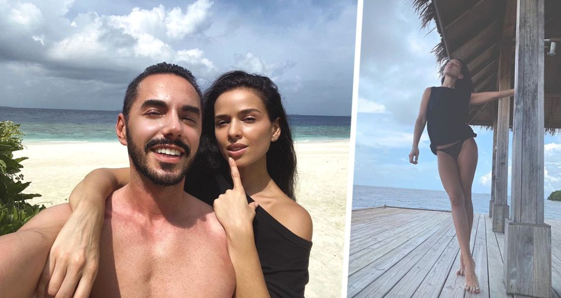 Тимур Родригез с женой продемонстрировал кадры безмятежного отдыха на Мальдивах
