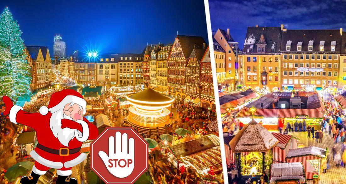 Германия: знаменитые рождественские ярмарки в Нюрнберге и Франкфурте отменены, а Lufthansa балансирует на грани краха