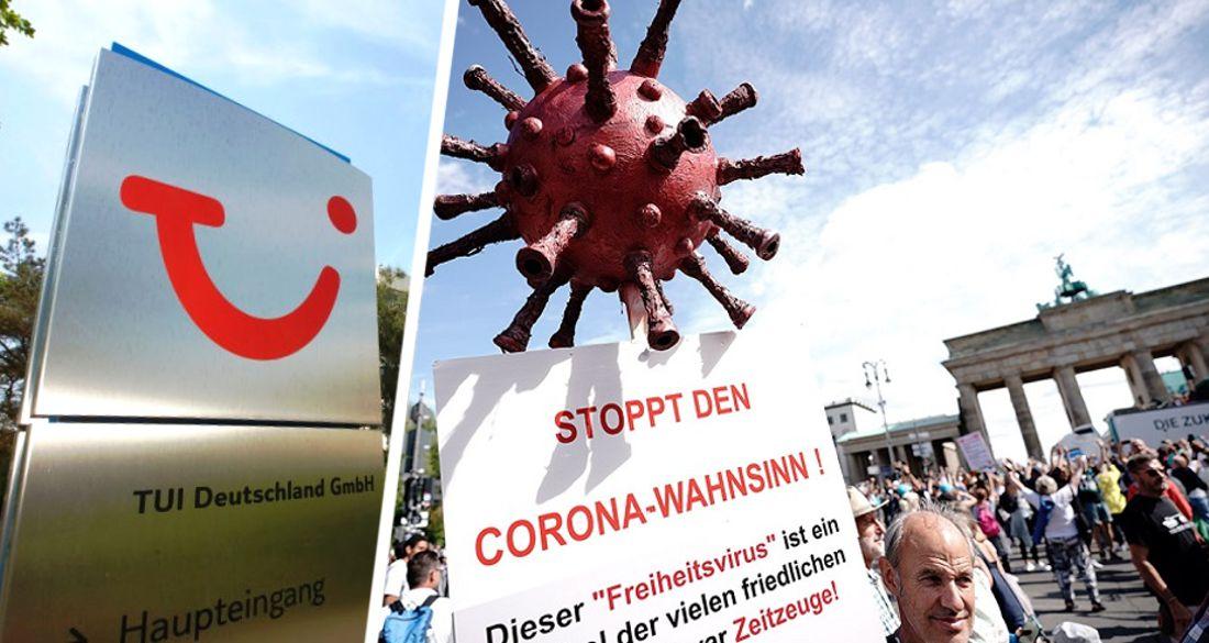 TUI поддержал судебный иск против коронавирусных ограничений для туристов
