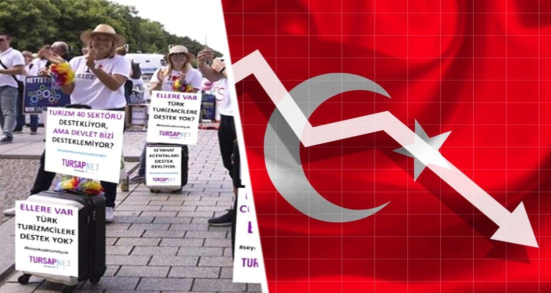 «Ситуация в Турции близка к катастрофе»: турецкие турфирмы проведут митинг перед TÜRSAB