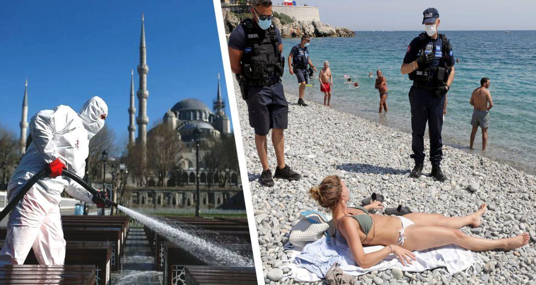 ϟ В Турции планируют введение частичной блокировки и комендантского часа - Reuters
