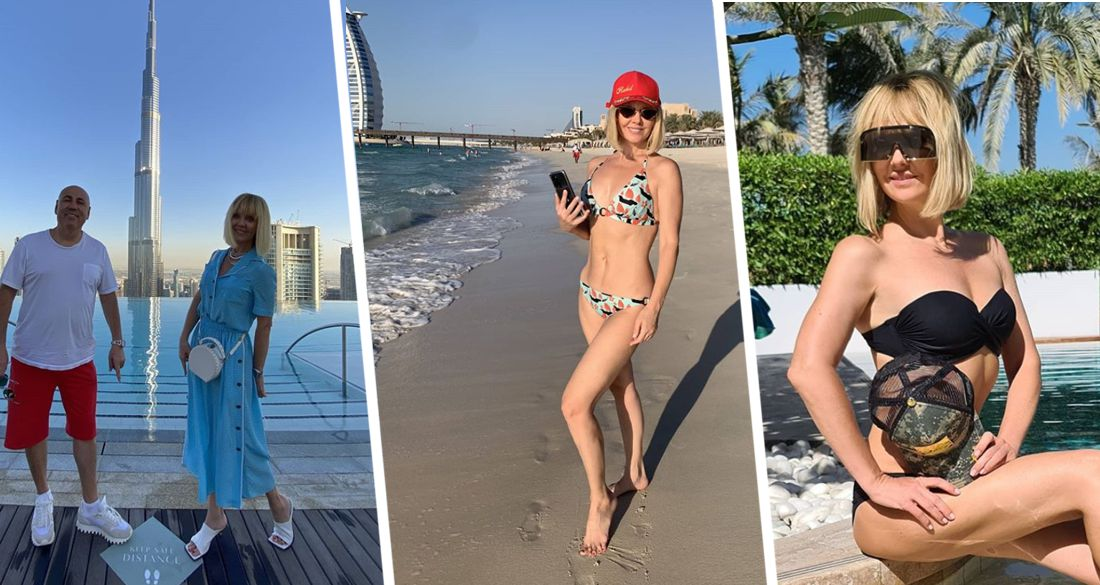 Вслед за Лободой на отдых в Дубай прилетела певица Валерия