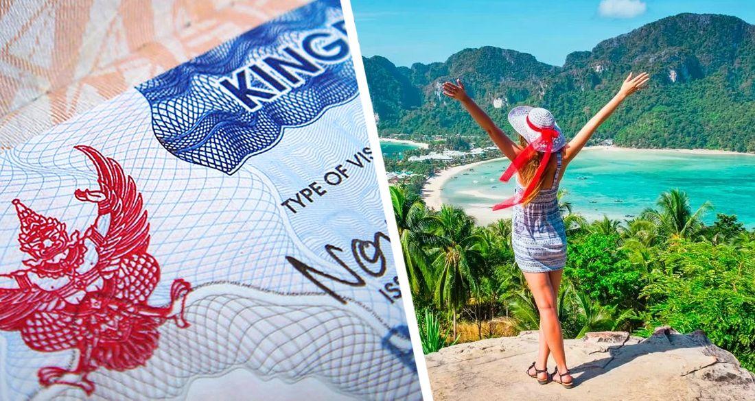 Таиланд разрешил туристам с просроченной визой остаться в стране