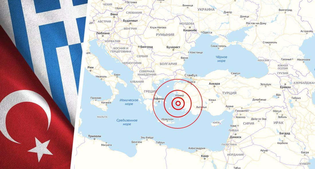 Землетрясение в Турции: опубликованы видео паники и разрушений. ВИДЕО