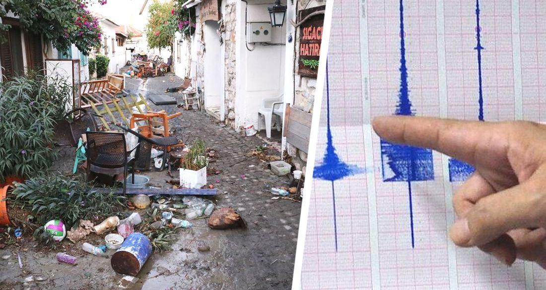 ϟ В Измире новое землетрясение: люди провели ночь в палатках, 13 отелей бесплатно открылись для пострадавших, туристический район разгромлен
