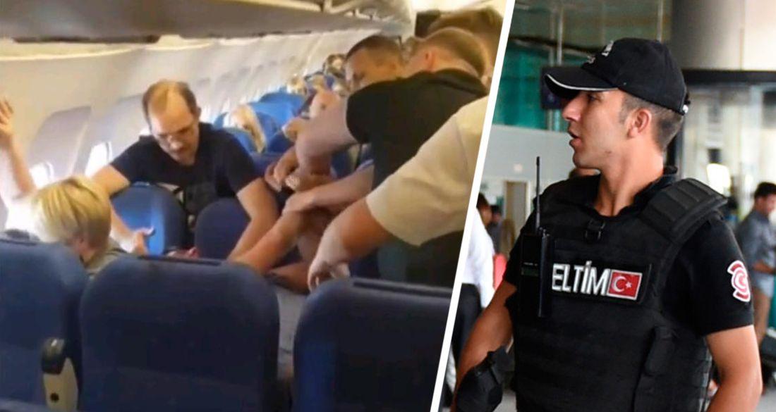 Отдых начался с турецкой кутузки: российский турист арестован в Турции за пьяный дебош в самолете
