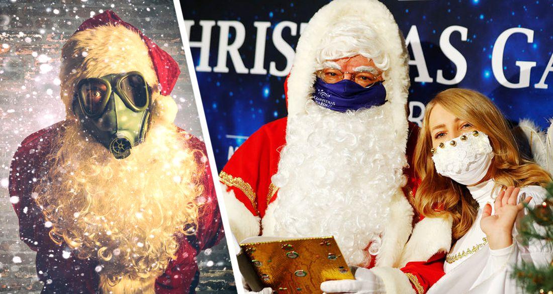 Путешествие Деда Мороза сократят и оденут на него маску