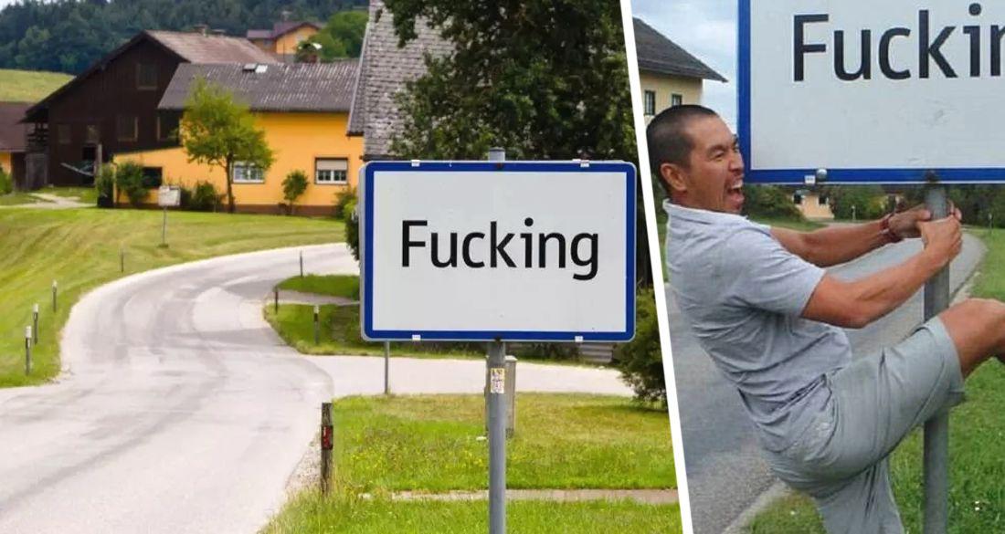 Жители деревни Fucking решились на переименование из-за нашествий туристов