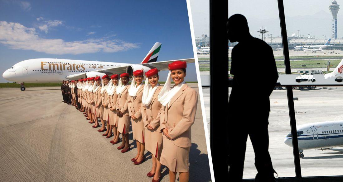 Работа за кормежку: пилоты Emirates лишились зарплаты на 12 месяцев