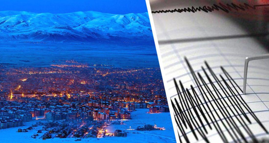 ϟ В Турции новое землетрясение: трясет недалеко от горнолыжного курорта