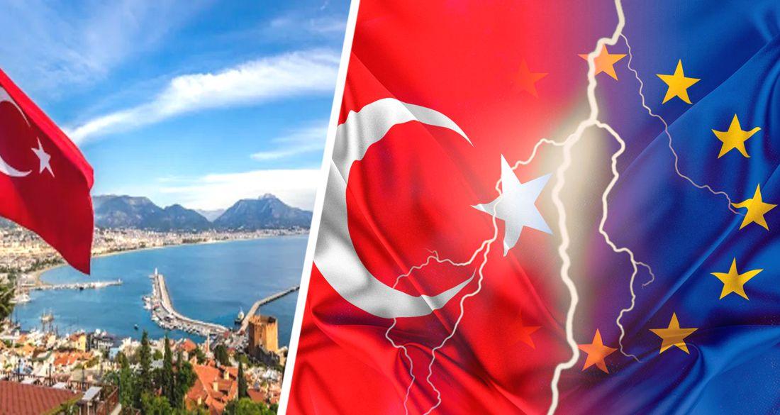 ϟ Туризм в Турции закрывают: Еврокомиссия наложит на него санкции