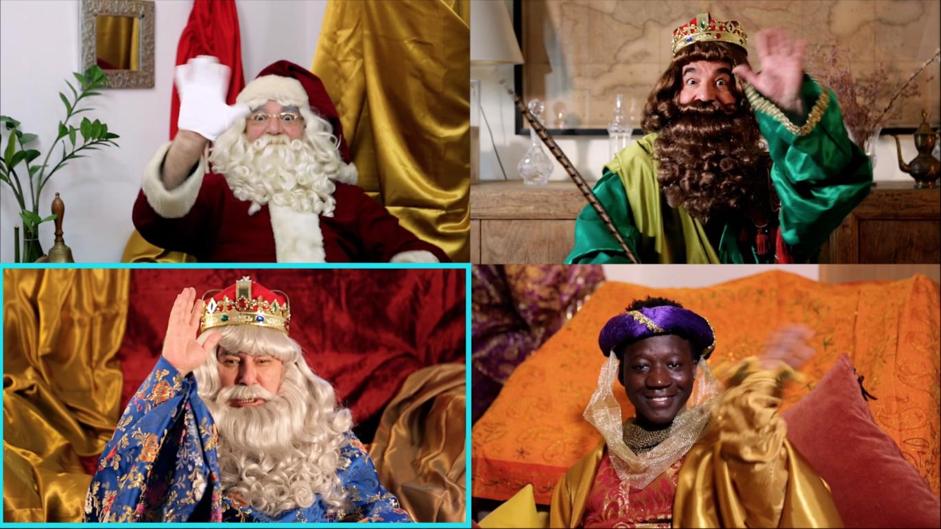 Короли Маги и Папа Ноэль будут общаться с детьми и их родителями по видеосвязи
