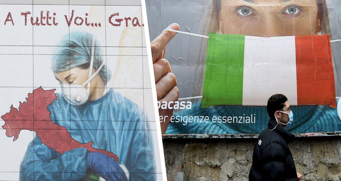 Отчаяние и базнадёга: Италия объявляет о новых радикальных мерах против Covid-19