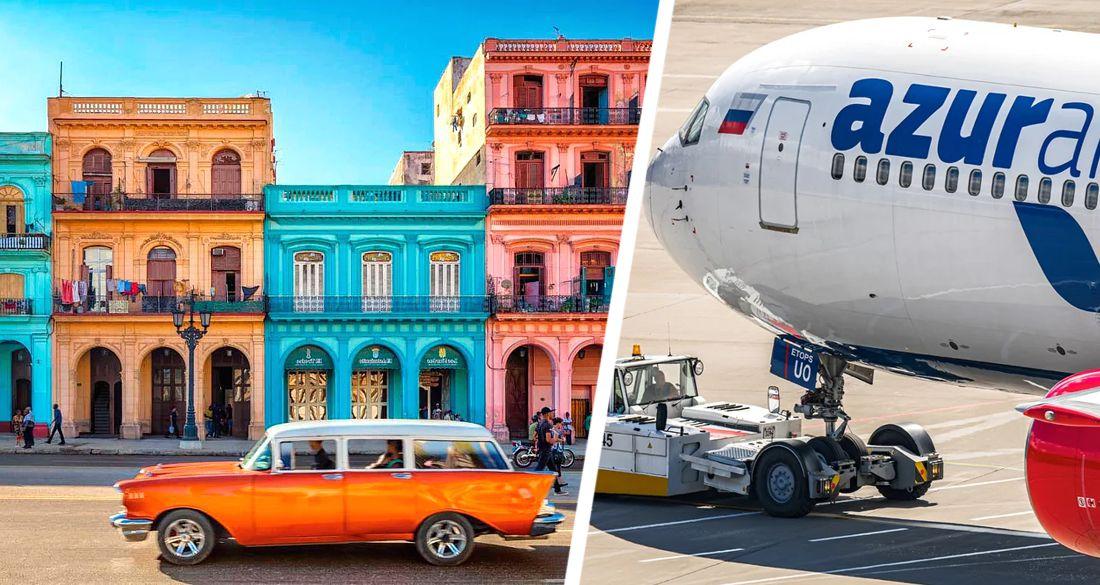 AZUR air опубликовал расписание рейсов на Кубу