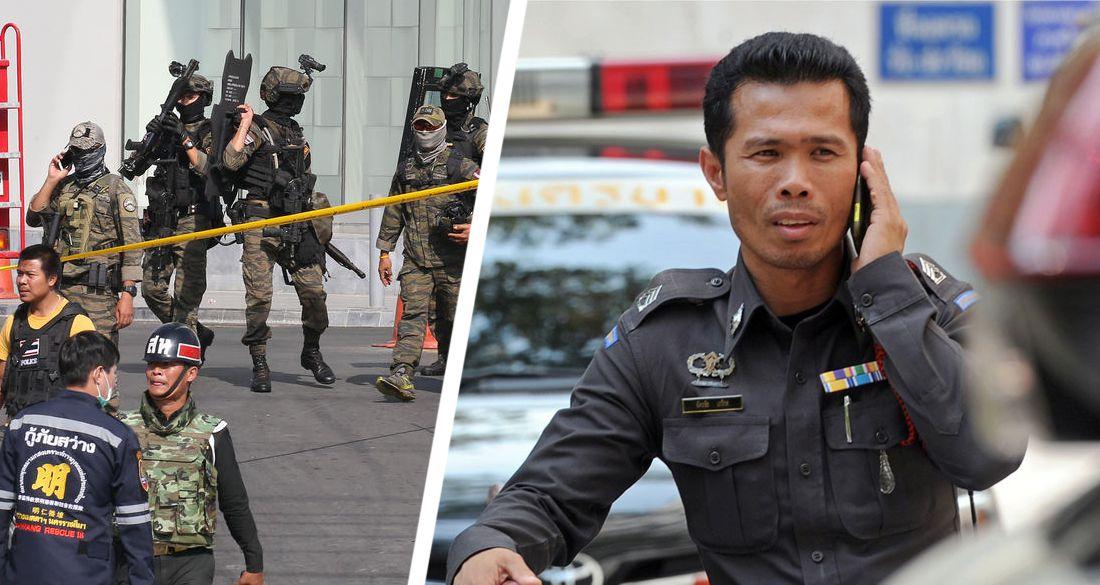 Бойня в Таиланде: в Паттайе турист расстрелял полицию, затем застрелив себя