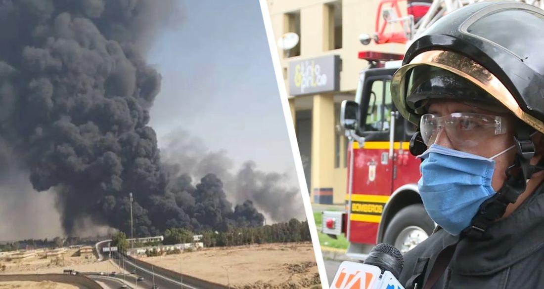 ϟ В Хургаде сгорел отель: 35 человек пострадали