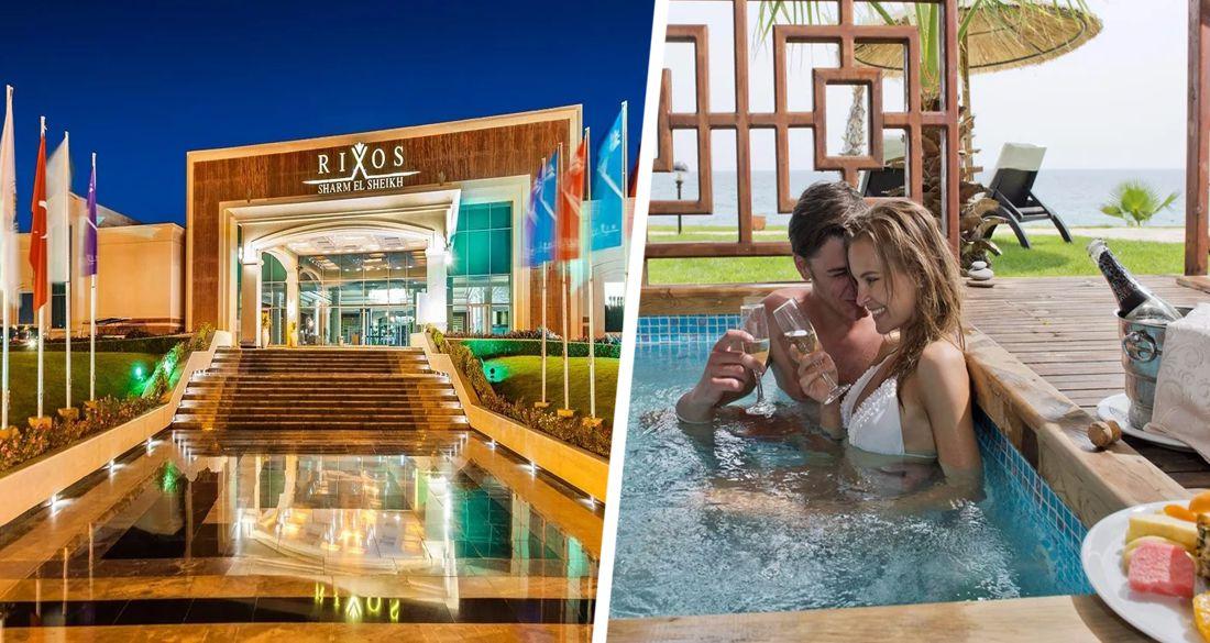 В Шарм-эль-Шейхе отель «только для взрослых» заполнили звезды шоу-бизнеса