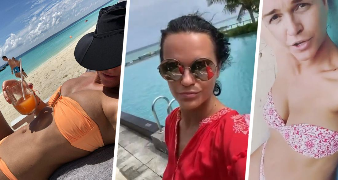 Певица Слава оконфузилась на Мальдивах