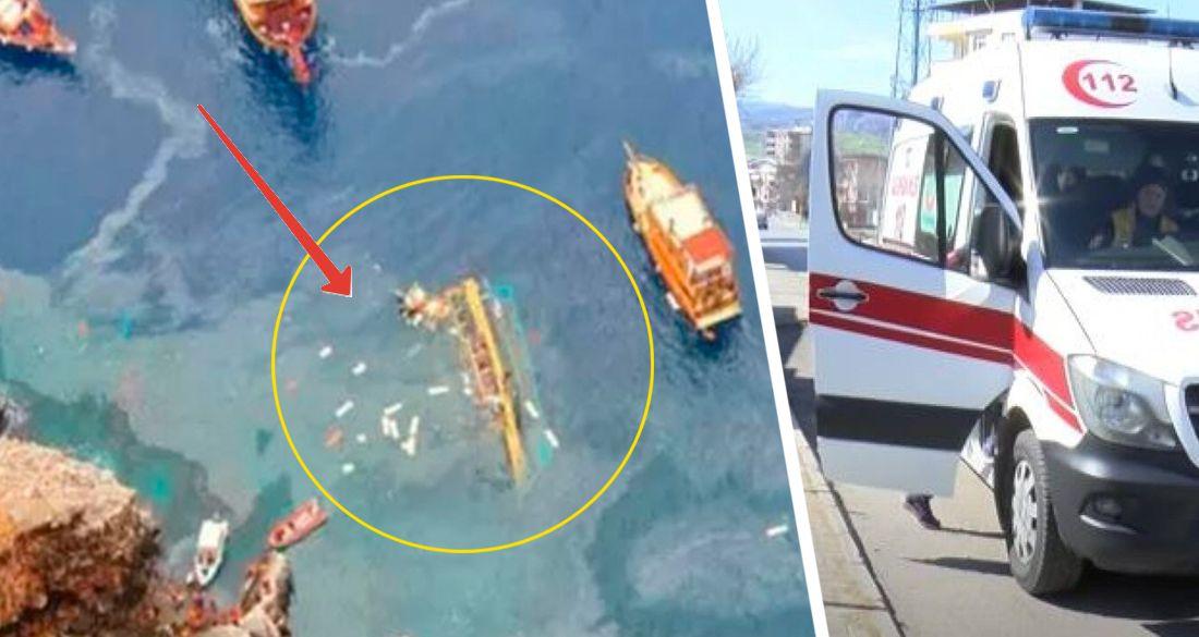 ϟ Катастрофа в Турции: катер с российскими туристами затонул в Анталии, есть жертвы. ВИДЕО