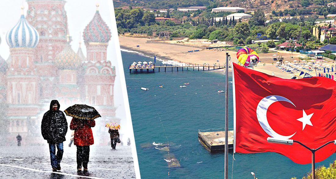 Российские туристы тысячами остаются в Анталии на зимовку