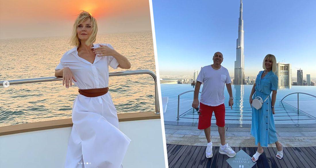 Отдых в Дубае: певица Валерия похвасталась сексуальной фигурой в бикини