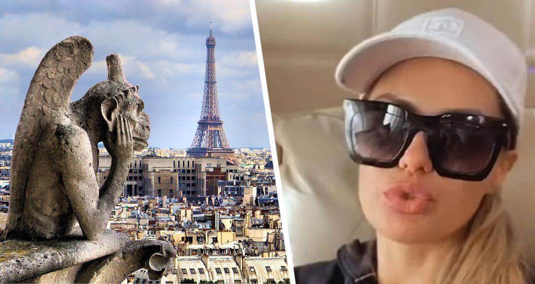 Телеведущую Викторию Боню задержала полиция в аэропорту Парижа
