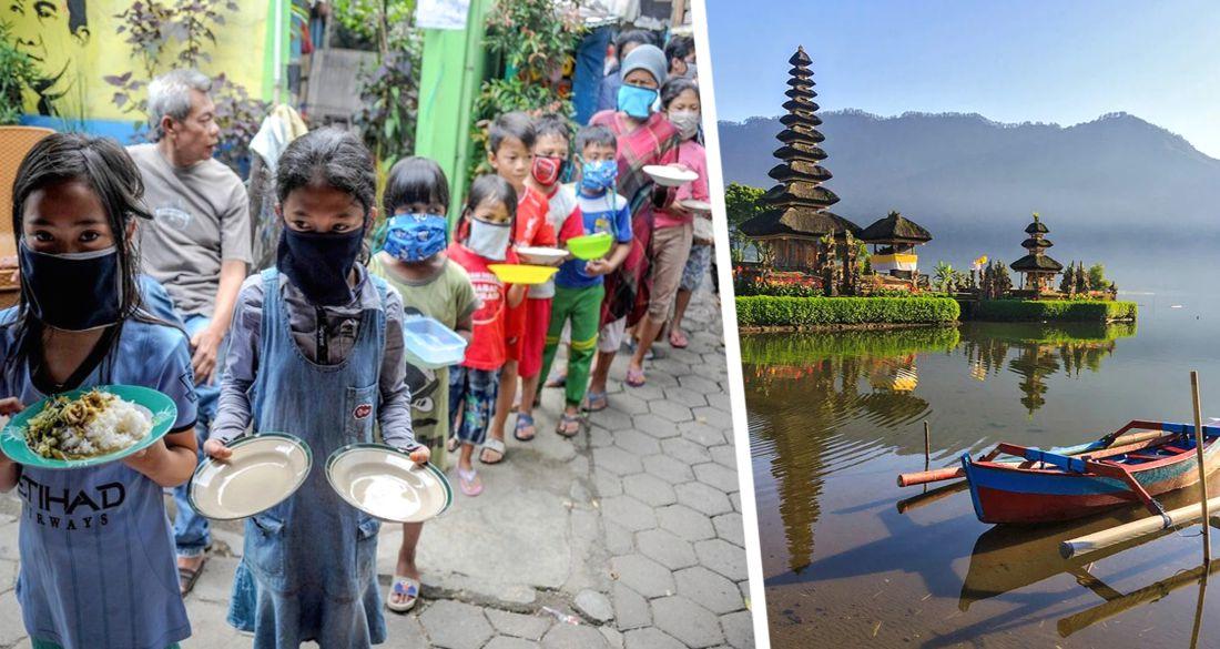 На Бали начался голод из-за отсутствия туристов