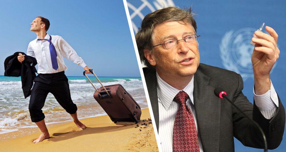 Туризм получил тревожный звонок от Билла Гейтса