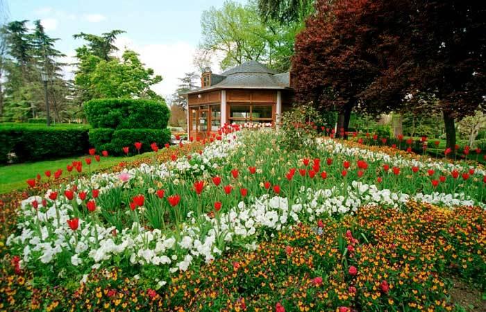 Памплона – город прекрасных парков и садов