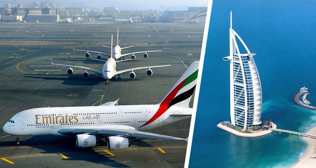 ✈ Emirates открыла ежедневные рейсы в Дубай из Домодедово: цены упали