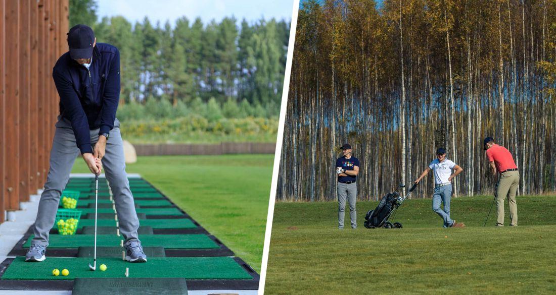 В России создают поле для гольфа, доступное простым туристам