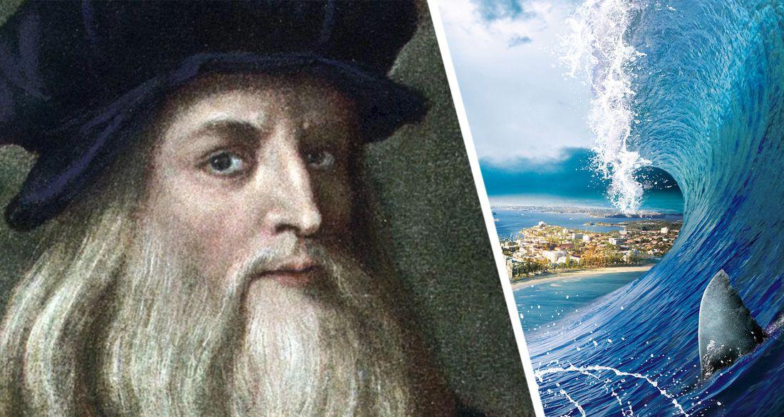 Леонардо да Винчи описал разрушительное цунами в Анталье