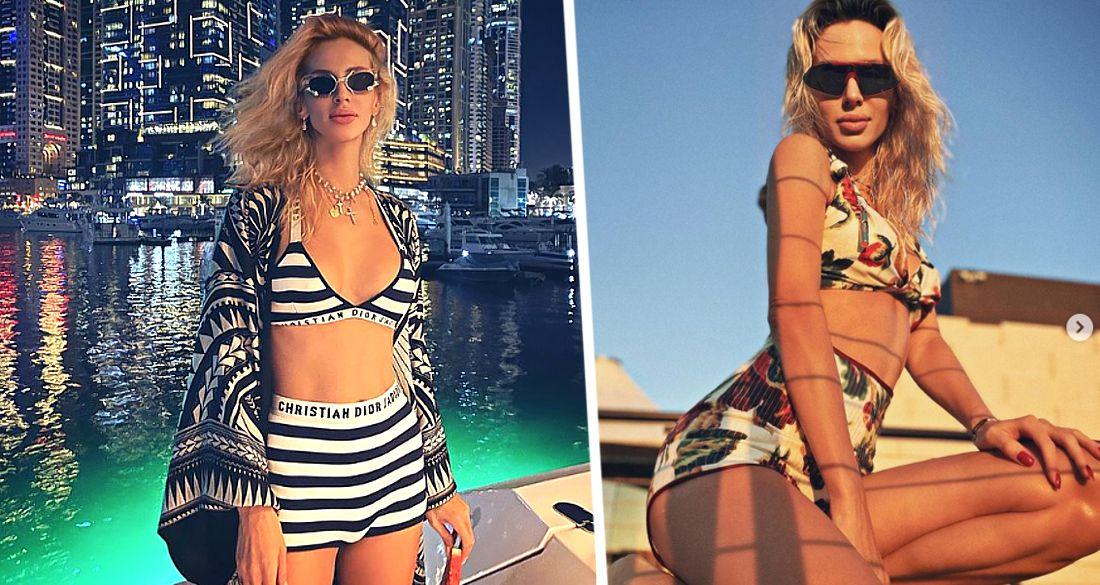 Светлана Лобода продемонстрировала ретро-бикини на отдыхе в Дубае