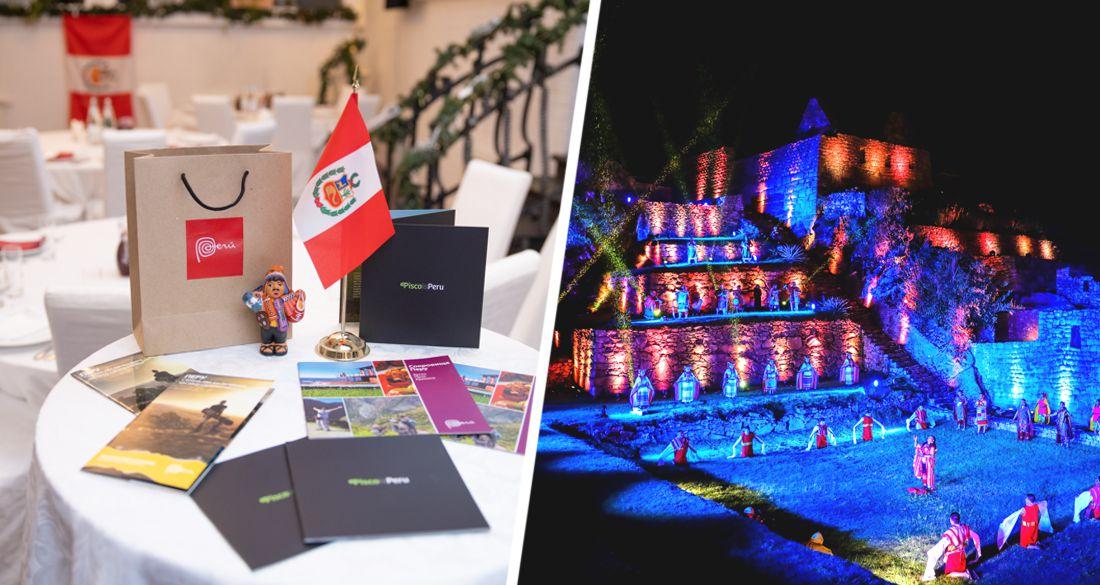 ПЕРУ РЯДОМ! Офис по Туризму Перу PROMPERÚ провел в Москве живой семинар в ресторане с перуанским ужином для туроператоров